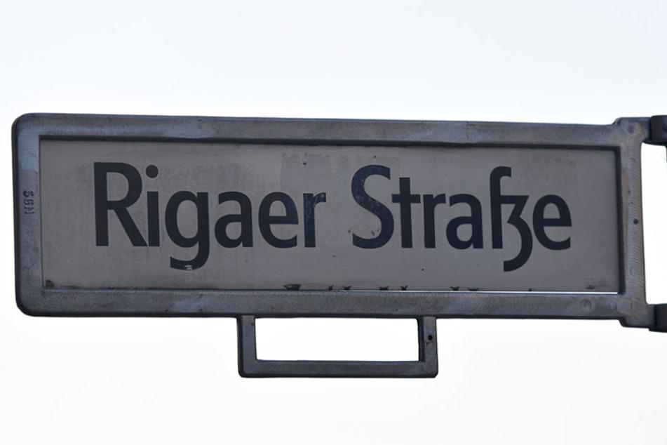 In der Rigaer Straße im Berliner Bezirk Friedrichshain kommt es immer wieder zu Ausschreitungen.