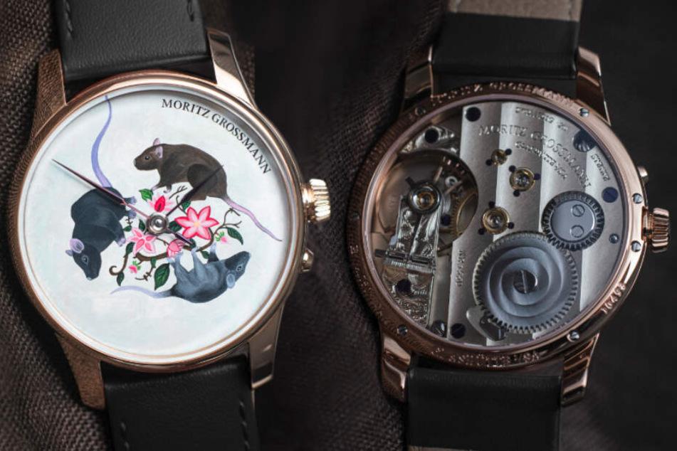 """Für mindestens 14.000 Euro pro Stück! Glashütte-Uhren bei """"Christie's"""" unterm Hammer"""