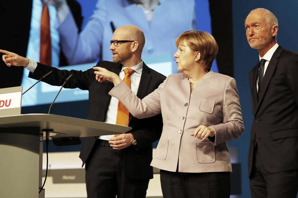 Merkels (62) CDU laufen die Mitglieder weg...