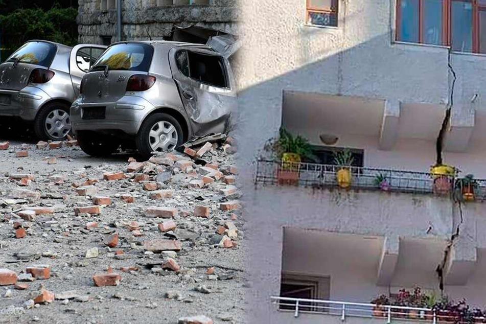 Erdbeben erschüttern Albanien: Über 100 Verletzte!