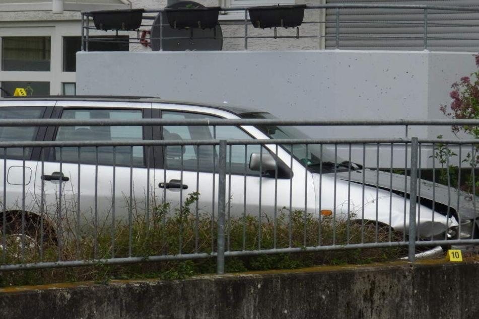 Das Auto des Tatverdächtigen.