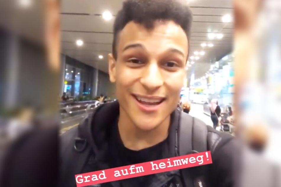 Prince Damien meldete sich am Montag via Instagram-Story aus Singapur zu Wort.