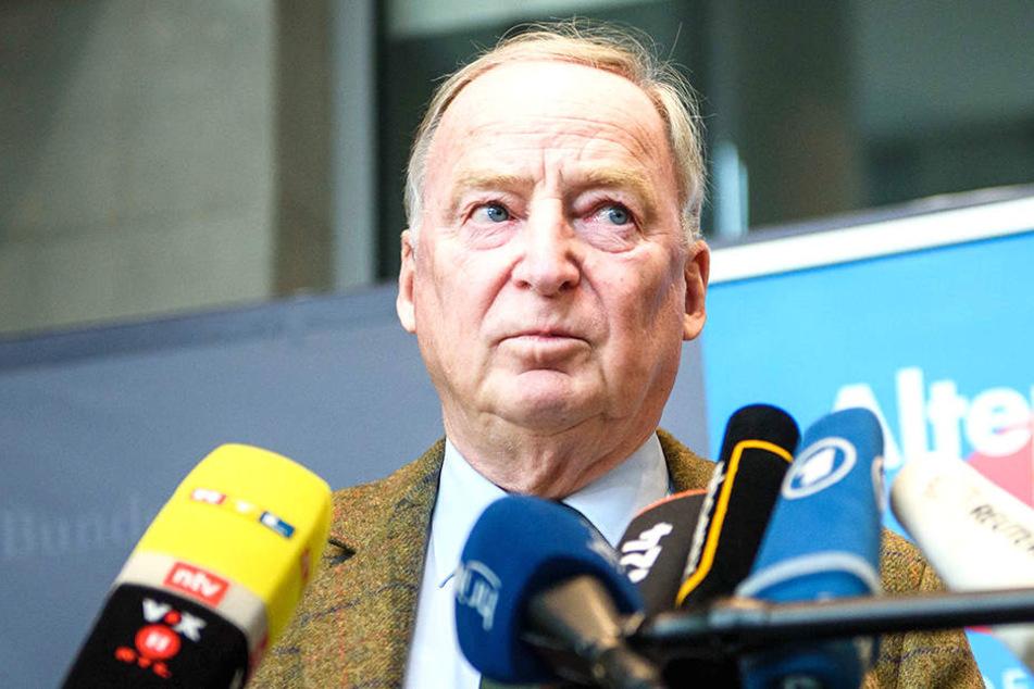 AfD-Spitzenkandidat Alexander Gauland sieht keine Marktlücke für Frauke Petry, Marcus Pretzell & Co.
