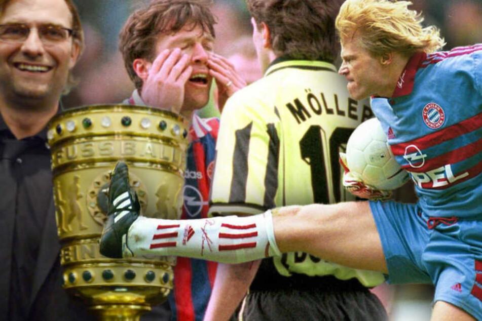 Das Duell Borussia Dortmund gegen FC Bayern München ist ein Highlight. (Bildmontage)