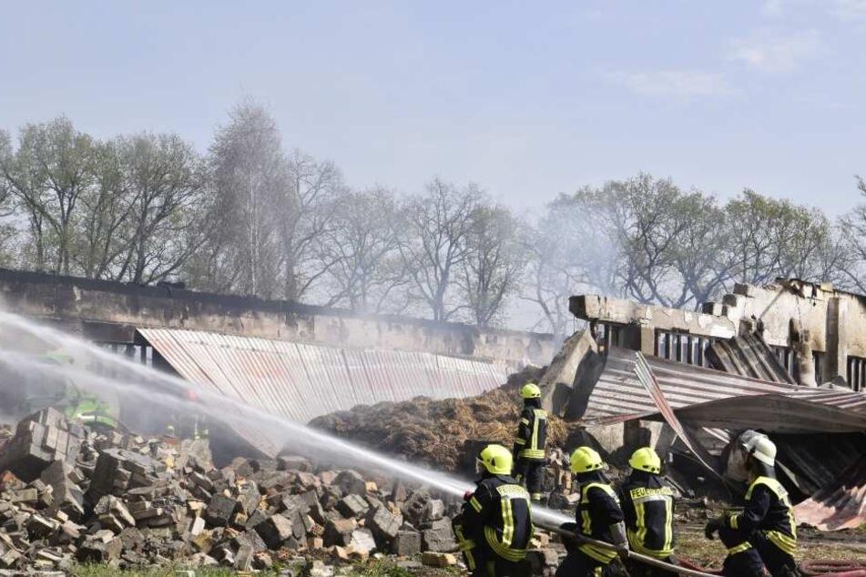 Der Sachschaden soll sich nach ersten Informationen auf ungefähr 150.000 Euro belaufen.