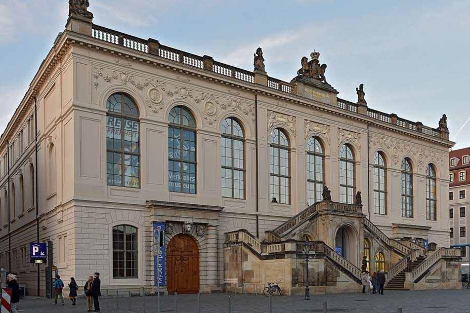 Das Verkehrsmuseum in Dresden.