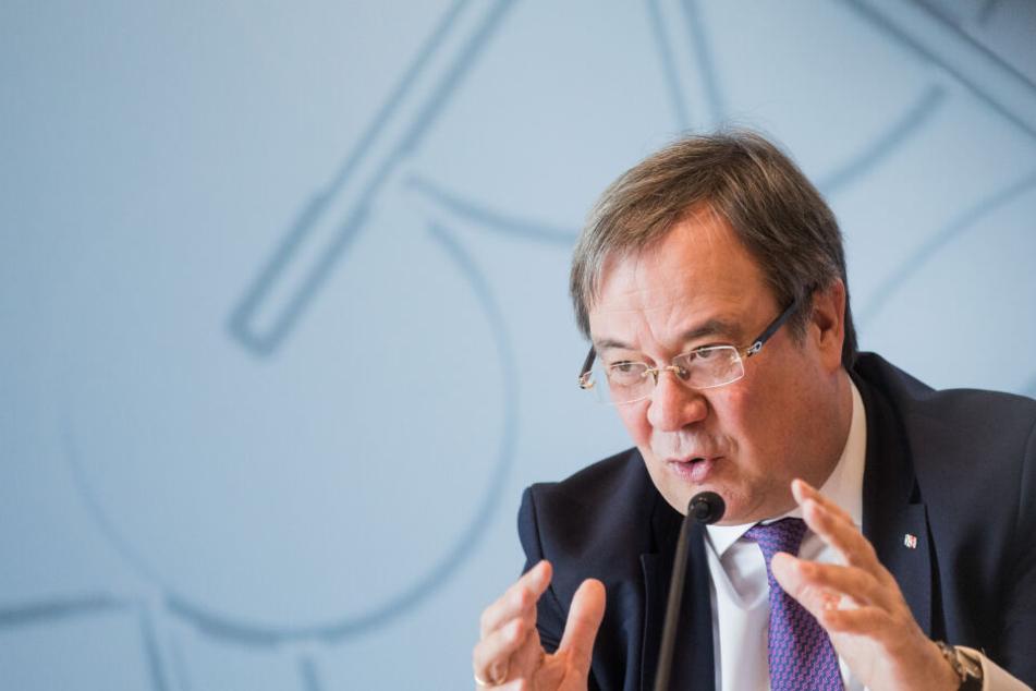 NRW-Ministerpräsident Armin Laschet (CDU) am Montag in Düsseldorf.