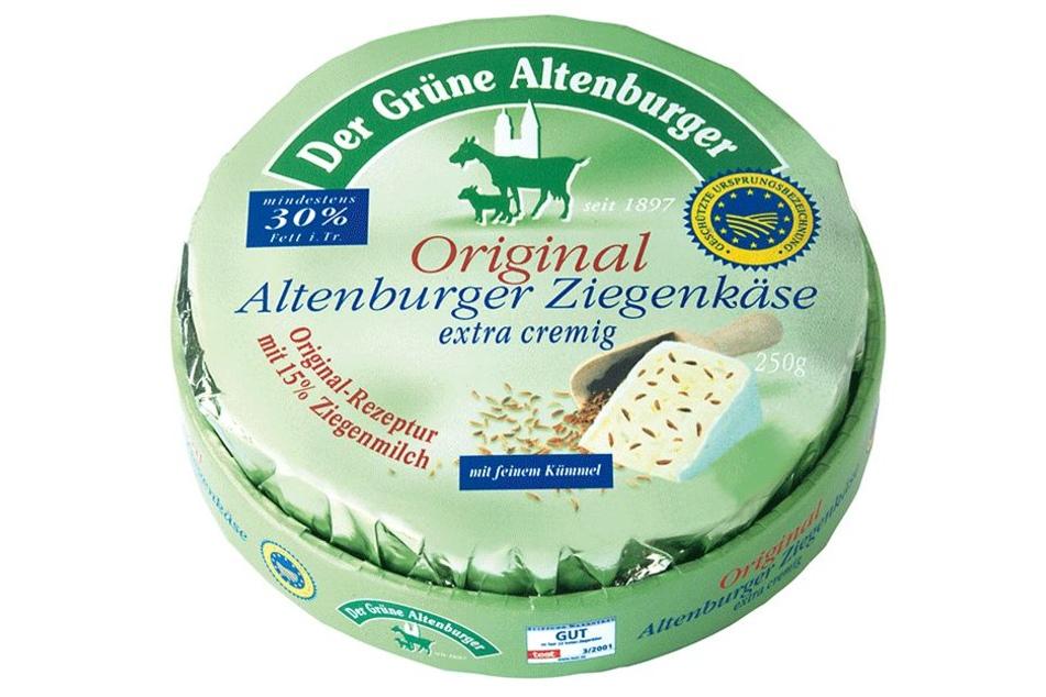 Altenburger Ziegenkäse ist ein Weichkäse aus dem Grenzgebiet zwischen Sachsen und Thüringen. Er wird aus Kuhmilch mit einem Anteil von 15 Prozent Ziegenmilch hergestellt.