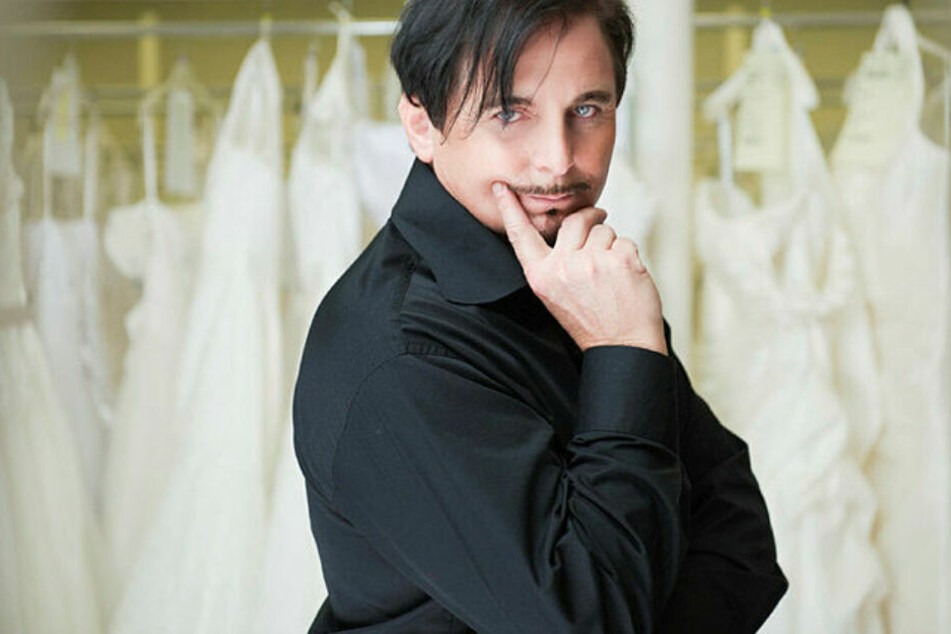Auch in Holland berühmt: Brautmoden-Designer Uwe Herrmann.