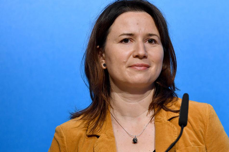 Anja Siegesmund (Grüne) muss sich viel Kritik für ihr Klimaschutzgesetz anhören.