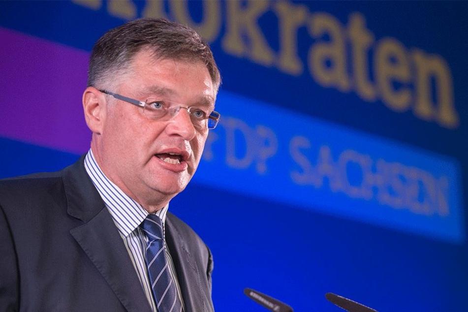FDP-Chef Holger Zastrow (49).