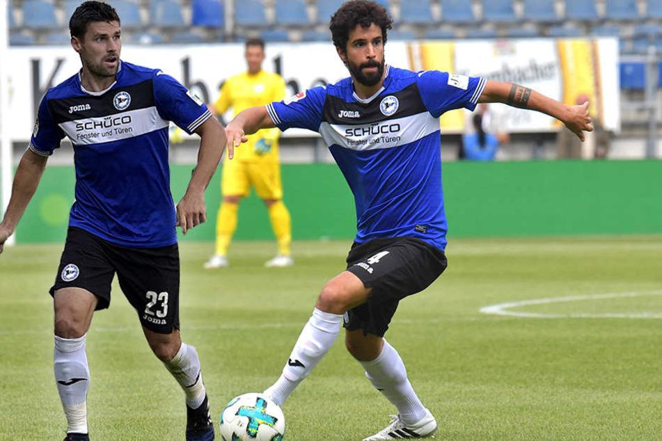 Nur einer der beiden wird starten: Florian Dick (l.) und Nils Teixeira.