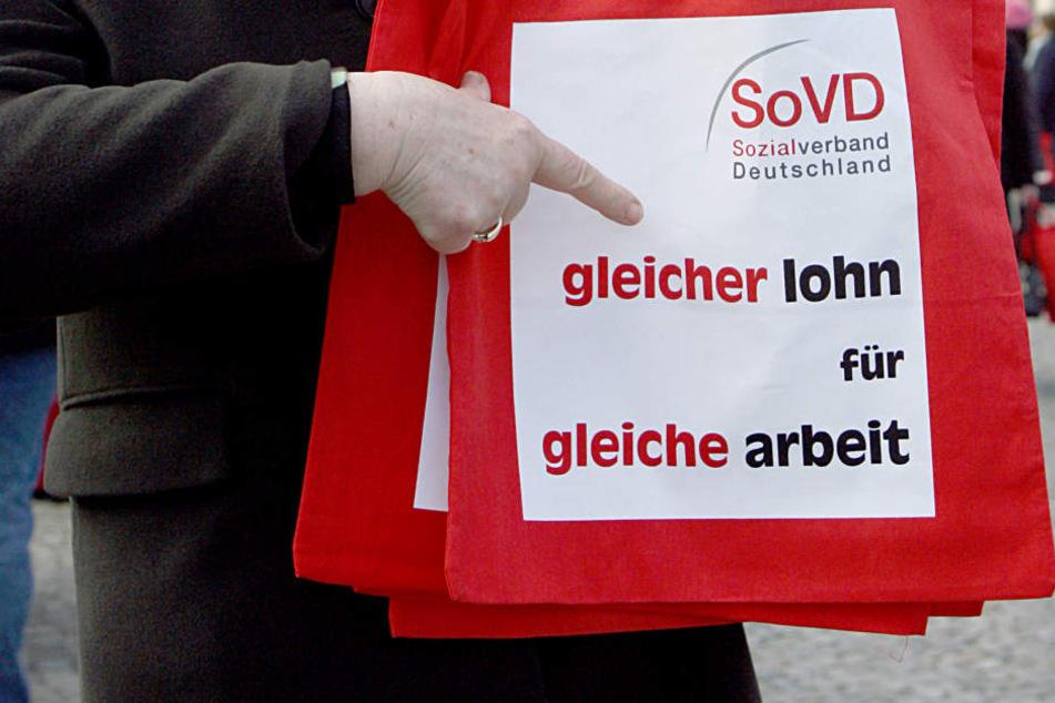 Proteste gegen Lohnunterschiede zwischen Mann und Frau sind keine Seltenheit. (Symbolbild)