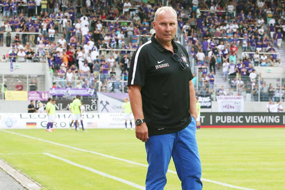 Helge Leonhardt ist seit zwei Jahren Präsident des FC Erzgebirge.