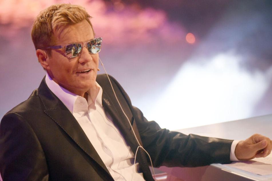 """Dieter Bohlen sitzt als Jury-Mitglied in der Sendung """"Das Supertalent""""."""