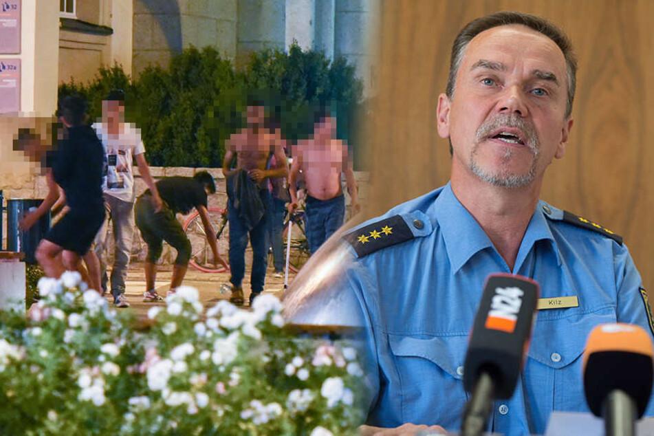 Polizeichef: Gewalt in Bautzen ging von Flüchtlingen aus