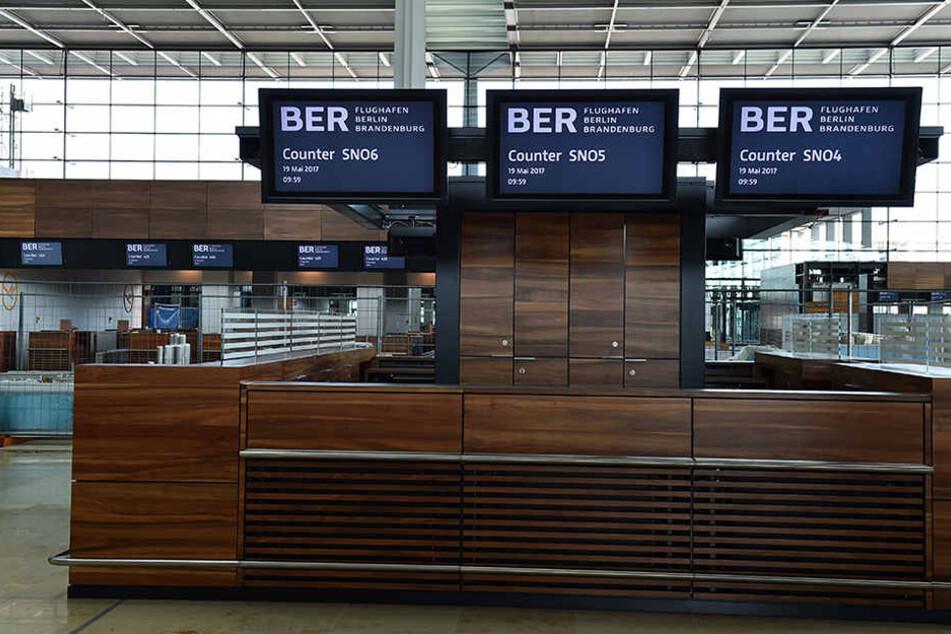 Werden nächstes Jahr am Counter im Hauptterminal endlich Fluggäste abgefertigt?