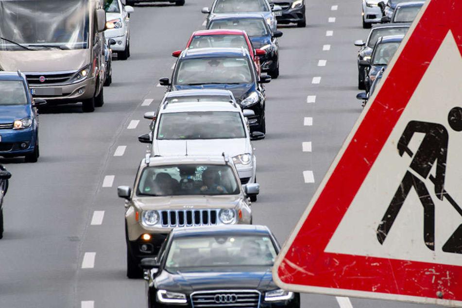 Auf der Berliner Brücke müssen sich Autofahrer auf Stau-Chaos einstellen
