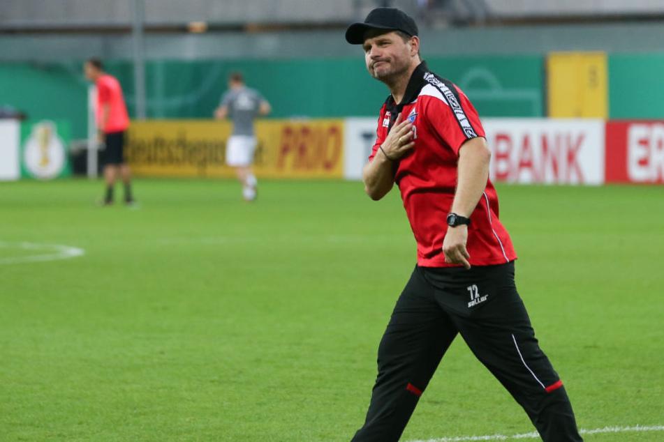 Steffen Baumgart genießt bei den SCP-Fans ein hohes Ansehen.