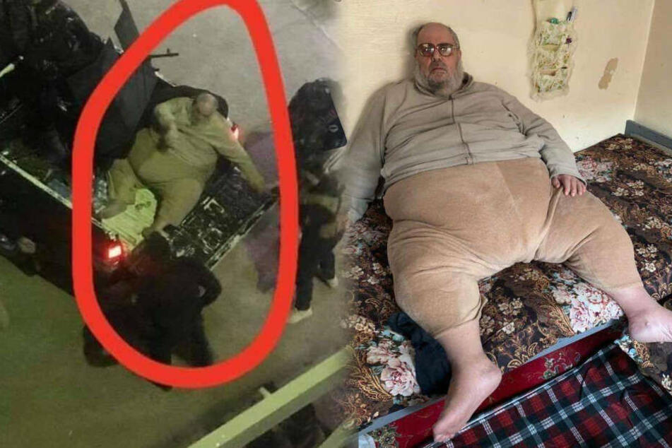 Auf Pickup geladen: Spott und Häme für fetten ISIS-Führer