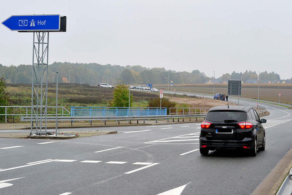 Am Dienstagmittag rollten die ersten Autos über den Autobahnzubringer.