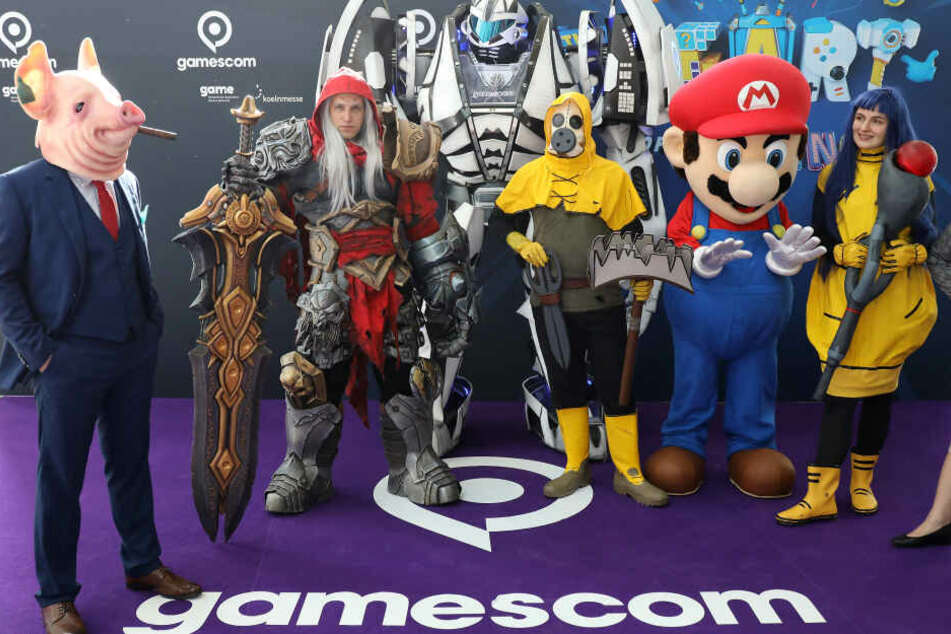 Die Computerspiele-Messe Gamescom findet vom 20.08. bis 24.08.2019 in Köln statt.