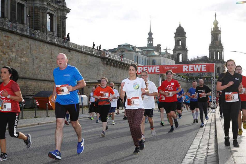 Tausende Läufer gaben sich die Ehre.