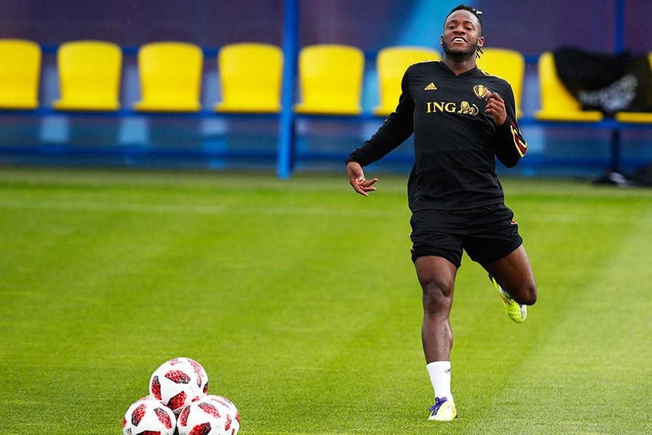 Der belgische WM-Teilnehmer Michy Batshuayi wird in der kommenden Spielzeit für den FC Valencia spielen.