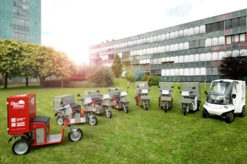 Mit diesen Fahrzeugen wird das Zustellen zum Kinderspiel.