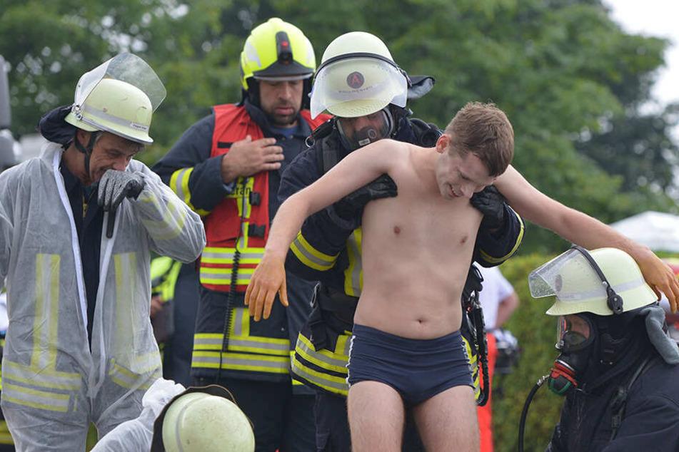 Was ist hier los? Großeinsatz der Feuerwehr bei Chemnitz