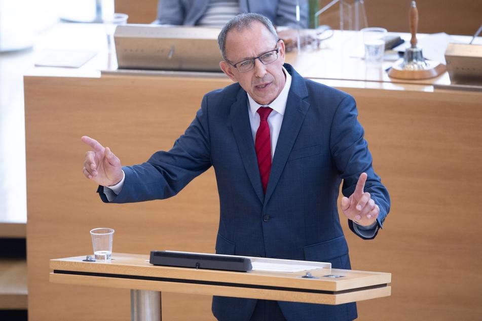 Jörg Urban (57), Vorsitzender der AfD in Sachsen.