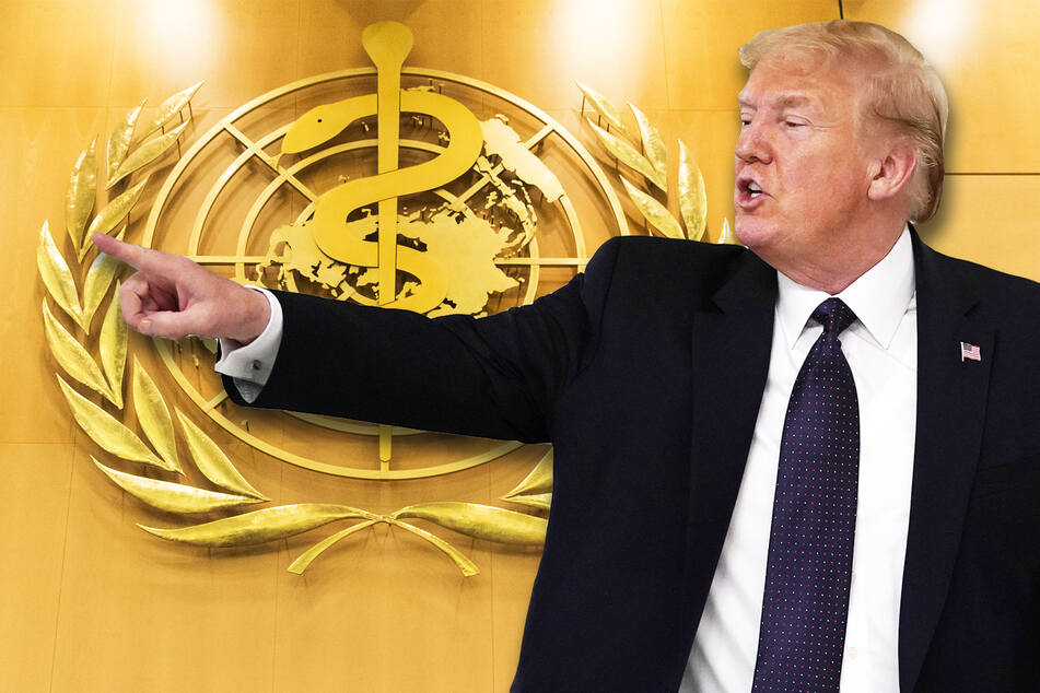 Donald Trump droht mit WHO-Ausstieg