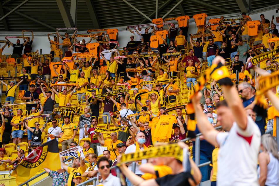 16.000 Zuschauer darf Dynamo Dresden im Rudolf-Harbig-Stadion beim DFB-Pokal-Spiel gegen den SC Paderborn 07 empfangen.
