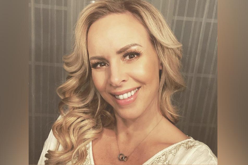 Isabel Edvardsson (38) auf Instagram