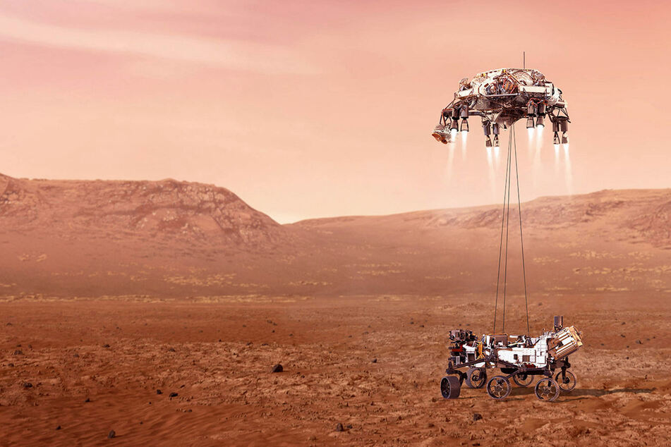 Countdown begins as NASA rover prepares to land on Mars