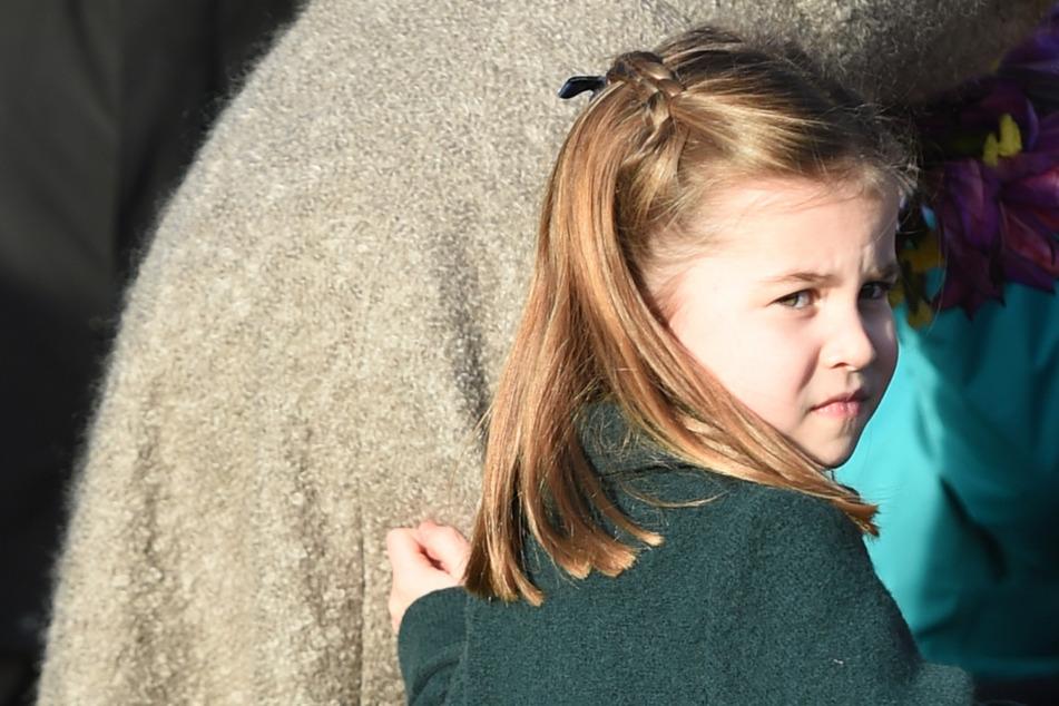 Geht Prinzessin Charlotte (5) am Montag in die Schule, oder nicht? (Archivbild)