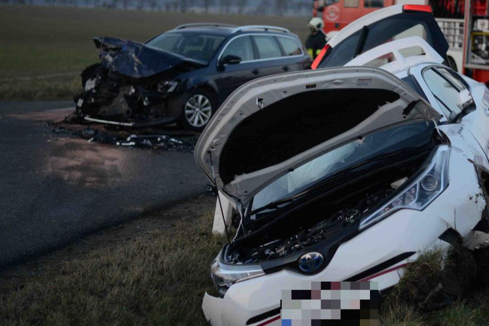 VW und Toyota krachen im Zittauer Umland zusammen