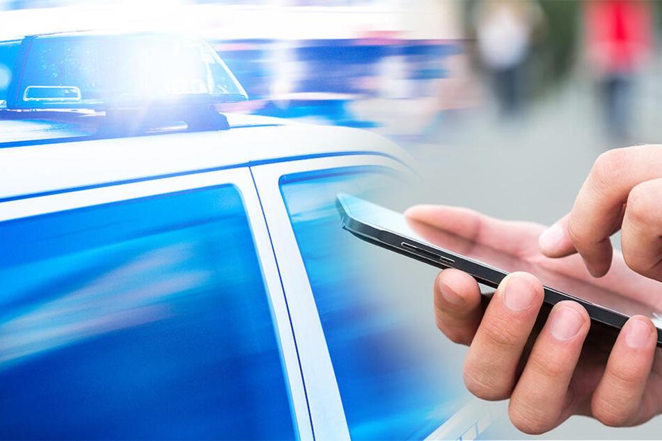 Mann ruft sofort die Polizei, als er drei Gestalten mit einem Handkarren sieht und landet einen Volltreffer