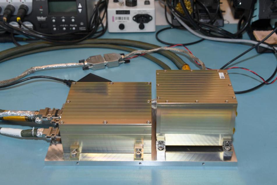 Das Messgerät ist mit an Bord der chinesischen Sonde.