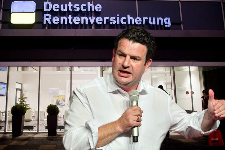 Sozial- und Arbeitsminister Hubertus Heil (45, SPD) will die Rente voranbringen.