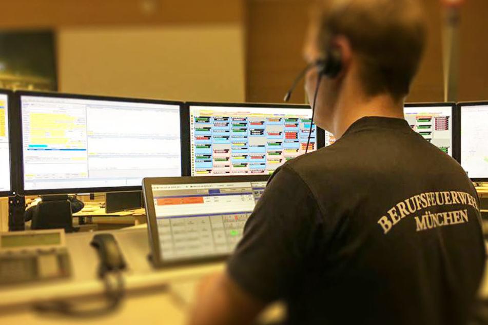 Der Anruf der besorgten Nichte ging in der Notrufzentrale der Münchner Feuerwehr ein.