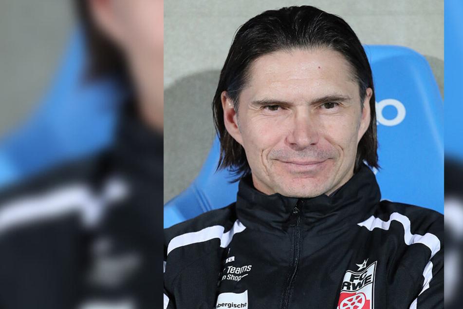 RWE-Trainer Thomas Brdaric.
