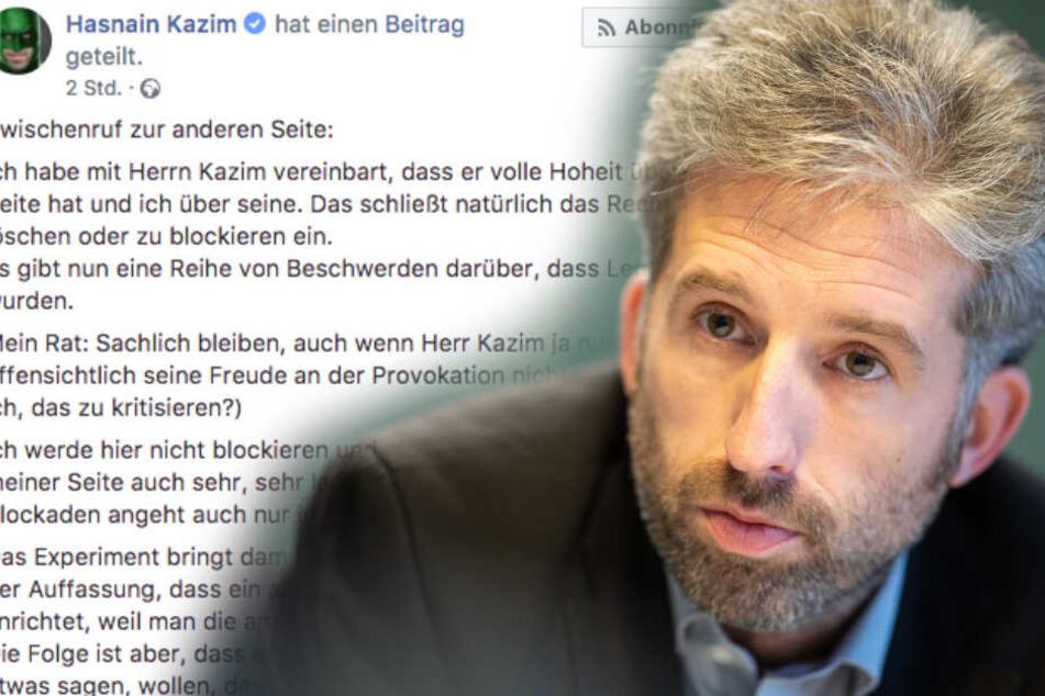 """""""AfD immer stärker"""": Darum blockiert Boris Palmer User nicht gleich bei Facebook"""