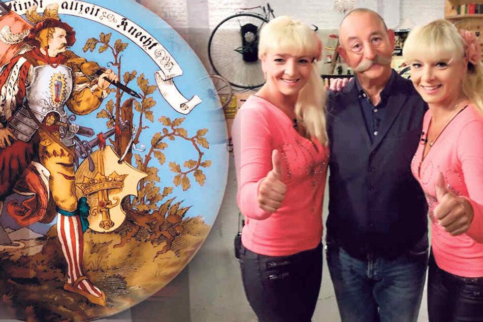 Dixie-Zwillinge verkloppen heute Opas alten Teller