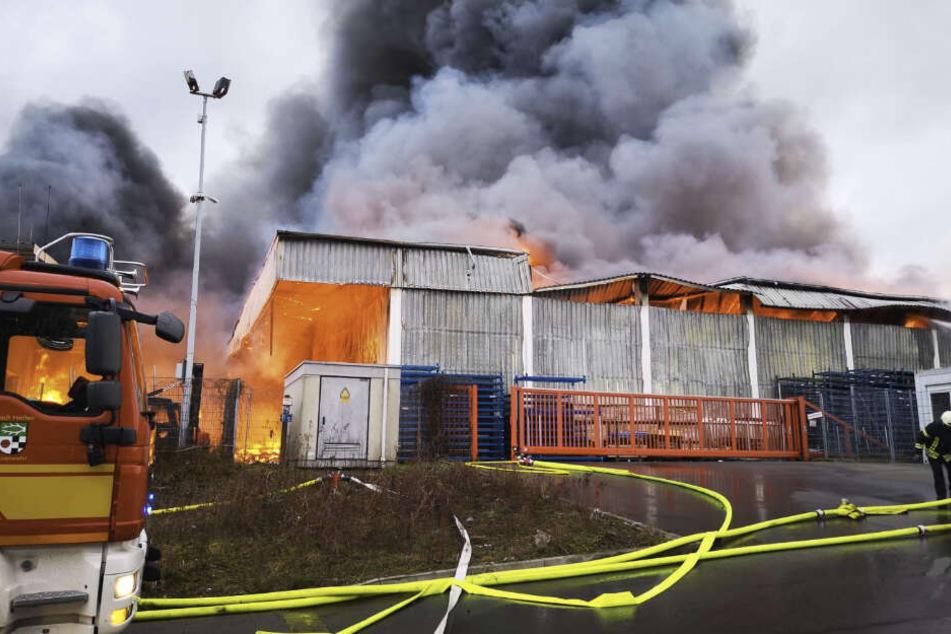 In einem Baumarkt ist ein Feuer ausgebrochen. Personenschäden gebe es nach ersten Erkenntnissen nicht, sagte ein Sprecher der Feuerwehr im Kreis Recklinghausen.
