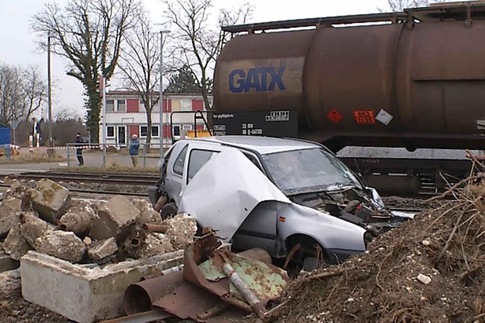 Der Autofahrer konnte gerettet werden.