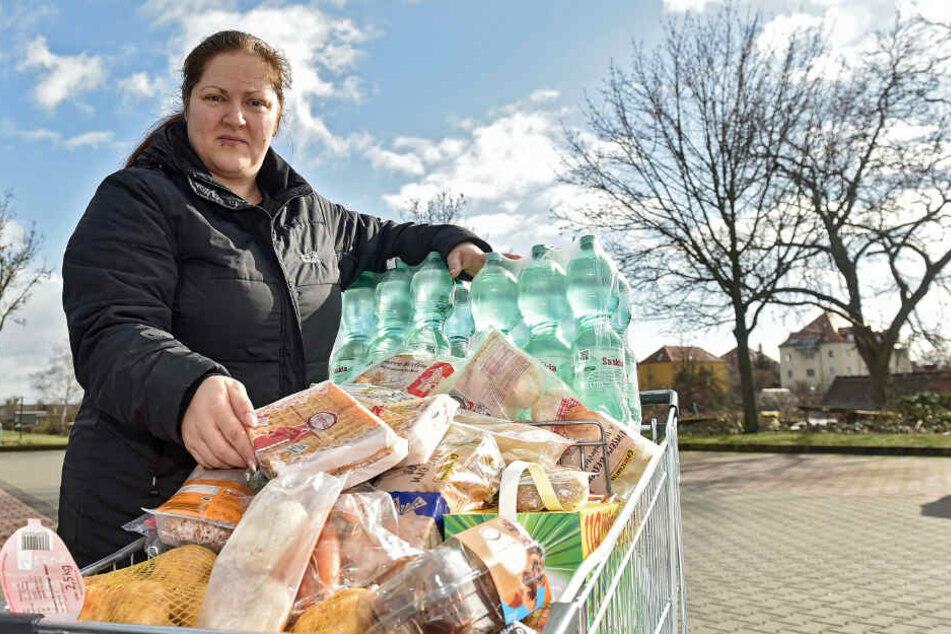 Dresden: Corona-Angst: Dresdner stürmen Supermärkte