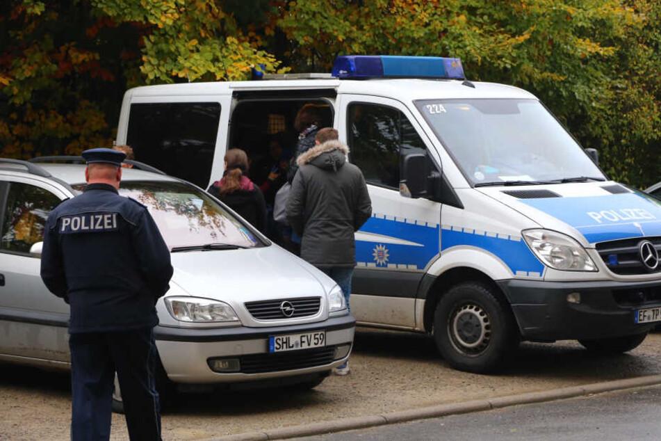 """Wie der """"MDR"""" mitteilt, laufen in Thüringen mehrere Anti-Terroreinsätze der Polizei."""