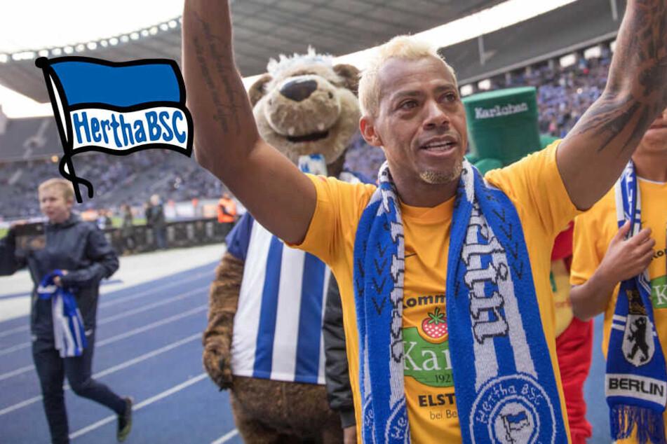 Trotz 43 Jahren: Ex-Hertha-Star Marcelinho macht weiter