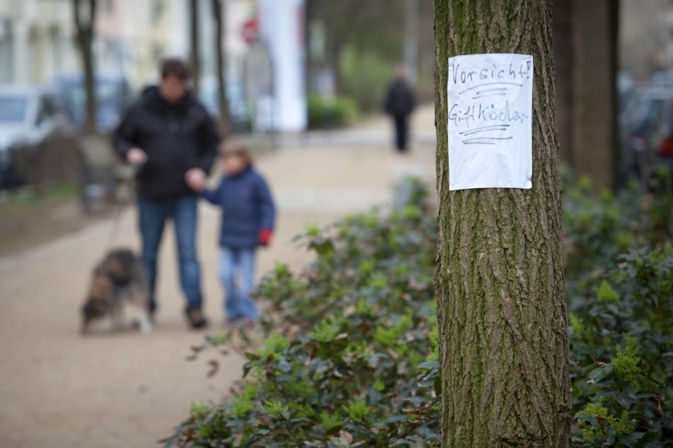 Haben Hundehasser in Thüringen Giftköder ausgelegt?